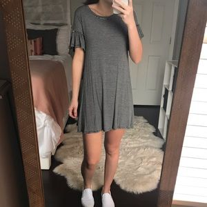 Mossimo Supply Co. Striped T-Shirt Dress